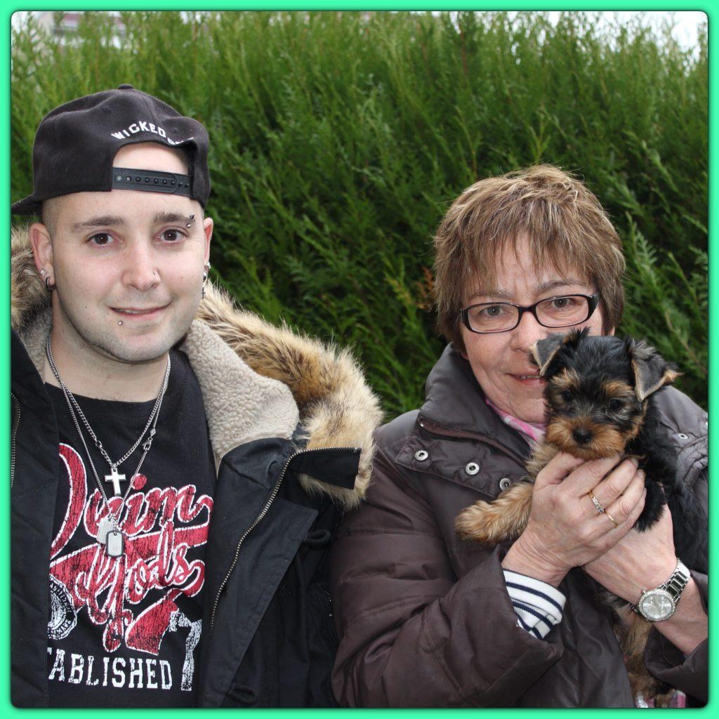 Ma mamie Corinne et Julien son fils
